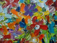 """Flower Frenzy"" - Close up"